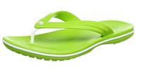 Шлепки въетнамки Crocs Unisex Crocband Flip-Flop зеленые 42 размера, фото 1
