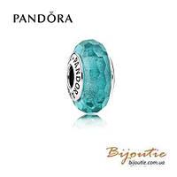 Pandora шарм ОГРАНЕННОЕ МУРАНО 791655 серебро 925 Пандора оригинал