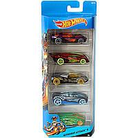 Машинки хот вилс из серии атака нитророботов Hot Wheels 5 pack Nitrobot Attack Vehicle Gift Pack Car Toys