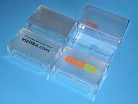 Коробка для визиток с логотипом типографии