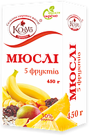 Мюсли  5 фруктов