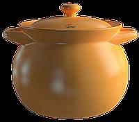 Термостойкая керамическая кастрюля Sacher 1,6 л коричневая
