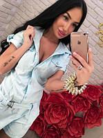 Женский джинсовый комбенизон DB-1513