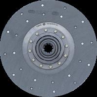 Диск сцепления ЗИЛ-130 (на шариках) / Диск 130-1601130-А8