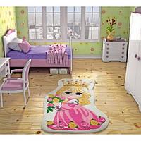 Ковер в детскую комнату Confetti Princess (розовый) 100х160