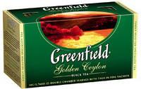 Чай Гринфилд черный Golden Ceylon 25 пакетиков