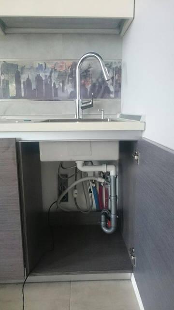 Определили место установки питьевого краника