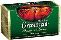 Чай Гринфилд черный Kenyan Sunrise 25 пакетиков