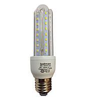 Светодиодная лампа LEDMAX 9Вт 3U9W E27 3000K, фото 1