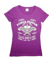 Женская спортивная футболка HEARTBREAKE Power System розовый