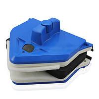 Магнитная щетка для мытья стеклопакетов с двух сторон 27-45 мм