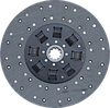 Диск сцепления МАЗ  ЯМЗ-238 с асбестовой накладкой / Диск 184-1601130