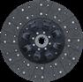 Диск сцепления  МАЗ  ЯМЗ-238 с безасбестовой накладкой / Диск 182-1601130