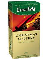 Чай Гринфилд черный с пряностями Christmas Mystery 25 пакетиков
