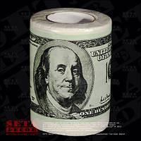Туалетная бумага Доллары 100$ сувенирная