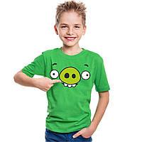 "Детская футболка ""Bad piggies""(Плохие свинки)"