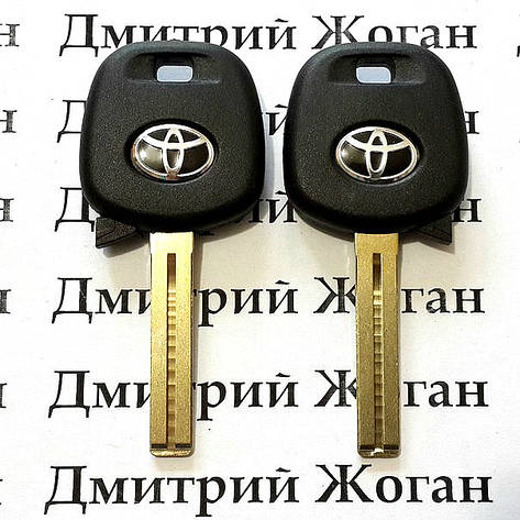 Корпус авто ключа под чип для Toyota (Тойота) лезвие TOY48, фото 2