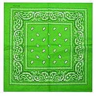 Бандана классика огурцы светло-зеленый
