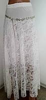 Юбка макси гипюр рр44-46