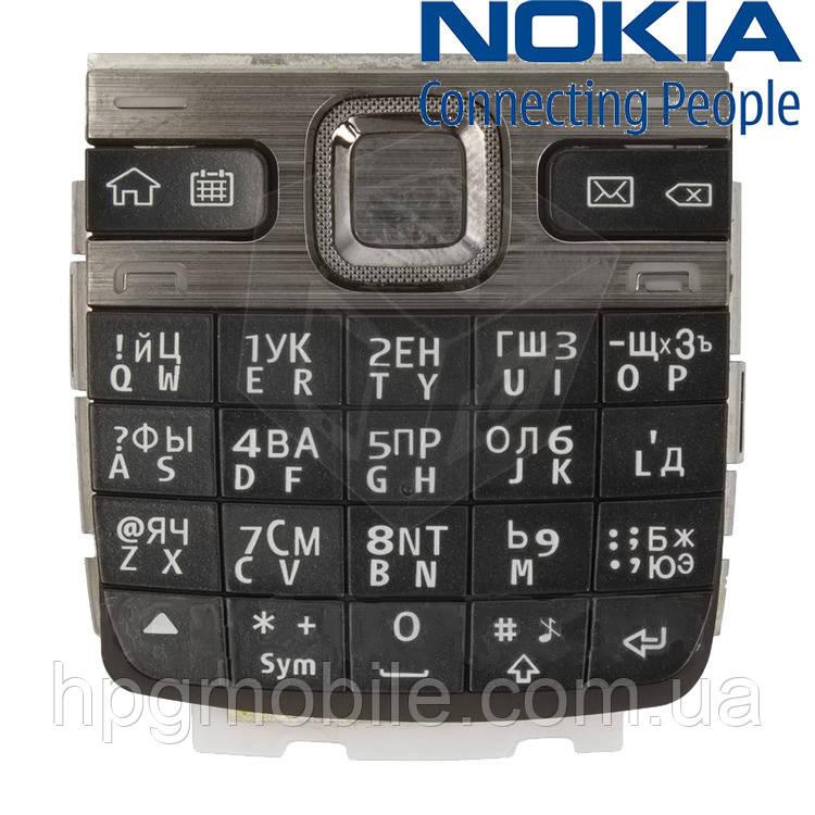 Клавиатура для Nokia E55, черная, AAA