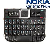 Клавиатура для Nokia E71, оригинал (черная)