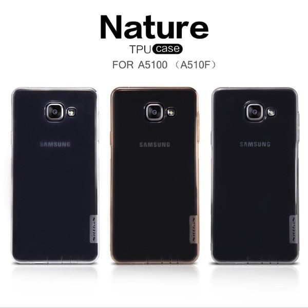 Чехол для Samsung Galaxy A5 A510 Nillkin Nature силикон, фото 1