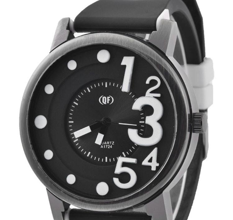 Часы наручные QF number white