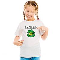 "Детская футболка ""Bad piggies 2 ""(Плохие свинки)"