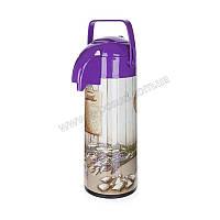 Термос помповый Banquet Lavender 4819J0A04 (1,9 л)