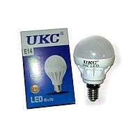 Светодиодная LED лампочка UKC Bulb Light E14 3W