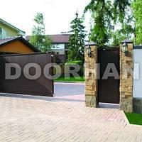 Откатные ворота из сэндвич-панелей Doorhan, фото 1