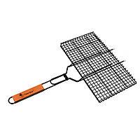 Решетка для гриля с антипригарным покрытием Time Eco 45х31 см