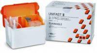 UNIFAST III, пластмасса для временных конструкций, порошок 100 гр, разные оттенки