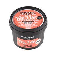 "Крем матовый для лица ""Yes, I do"" Kitchen Organic shop, 100 мл"