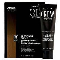 American Crew Precision Blend Система маскировки седины-4-5 уровень 3 x 40мл