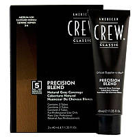 American Crew Precision Blend Система маскировки седины-2-3 уровень 3 x 40мл