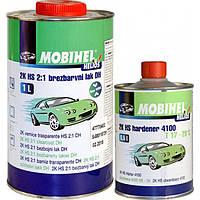 2K HS 2:1 DH low VOC Акриловый бесцветный лак Mobihel 1л + 0,5л 2K HS Отвердитель 4100