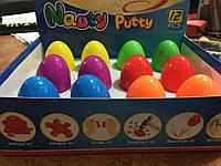 Пластилин каучуковый в яйце