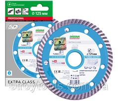 Алмазний диск Distar Turbo Extra . 101 150 28 010 . 125 мм. Київ.