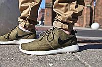 Мужcкие кроссовки Nike Roshe Run Olijf