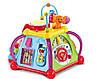 Развивающая логическая игрушка Мультицентр, музыка, свет, 15 игр