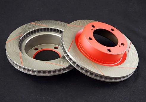 Вентилируемые тормозные диски Battlez Задние для Toyota Land Cruiser 200 07+   834048R