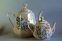 Чайная пара Синий цветок