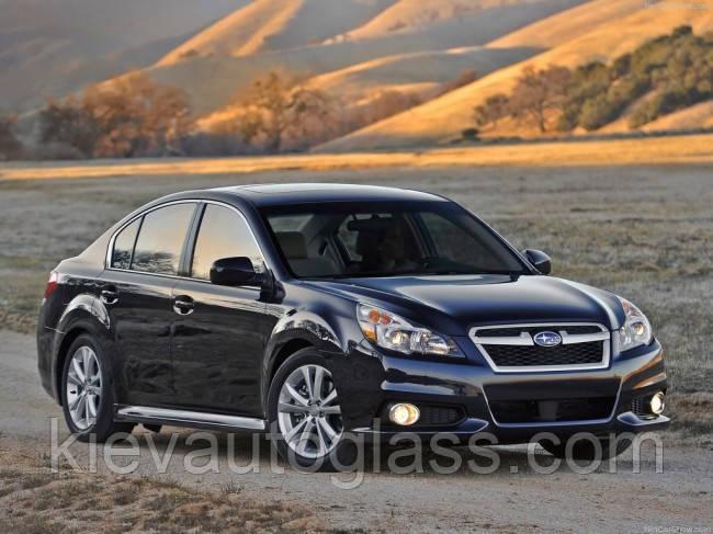 Лобовое стекло на Subaru Legacy 2010-14 г.в.