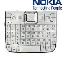 Клавиатура для Nokia E71, оригинал (белая)