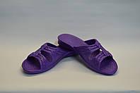 Сланцы женские фиолетовые, фото 1