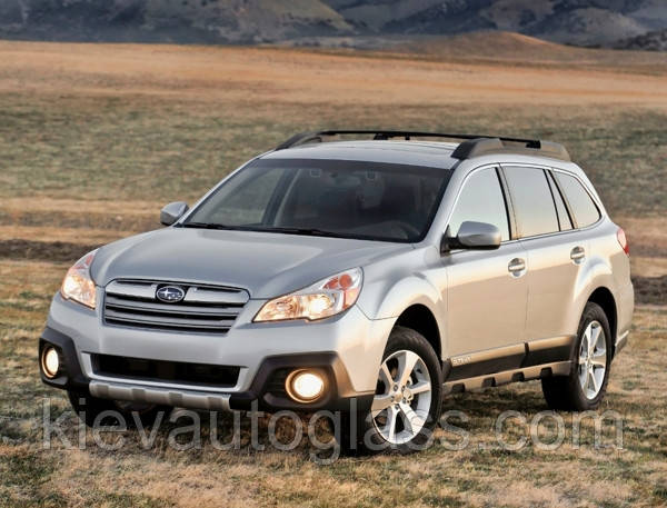 Лобовое стекло на Subaru Outback 2010-14 г.в.