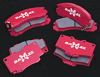 Тормозные колодки BATTLEZ задние Mitsubishi Pajero 00+  JAOS522310