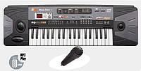 Пианино cинтезатор MQ 805 USB 37 клавиш, mp3, usb, микрофон, от сети