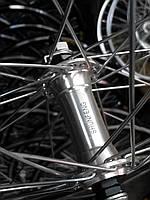 """Велосипедное колесо Mayarim, двойной обод, 24"""", 26"""", алюм. втулка, на промподш., V-brake, заднее"""